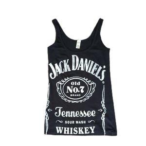 Jack Daniel's Whiskey Tank Top Black